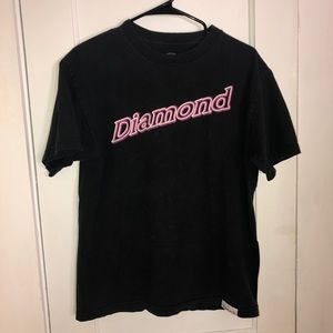 DIAMOND SUPPLY CO. Black medium unisex T shirt